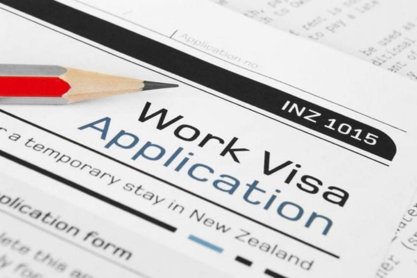 Work Visa Application